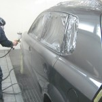 Покраска автомобиля с использованием азота